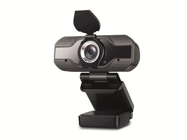 Webcam DENVER WEC-3110, 1920x1080, schwarz