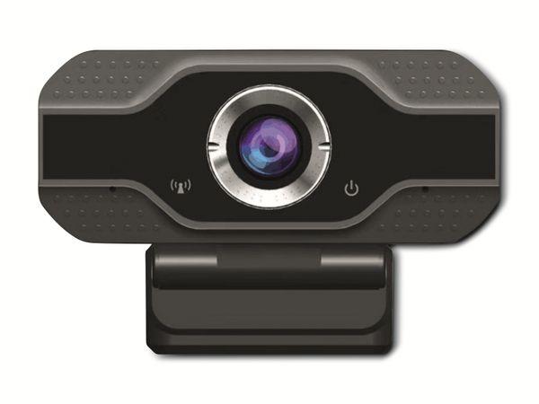 Webcam DENVER WEC-3110, 1920x1080, schwarz - Produktbild 2