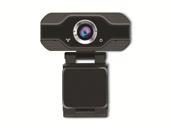 Webcam DENVER WEC-3110, 1920x1080, schwarz - Produktbild 3