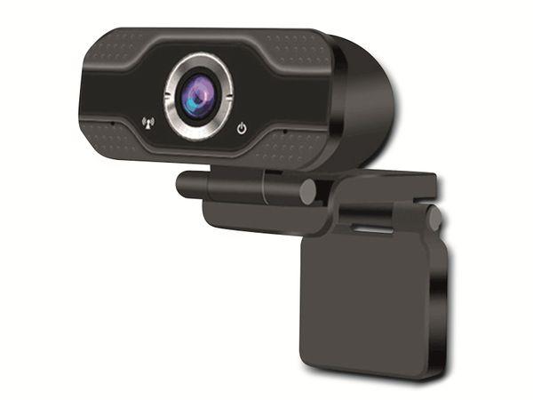 Webcam DENVER WEC-3110, 1920x1080, schwarz - Produktbild 4