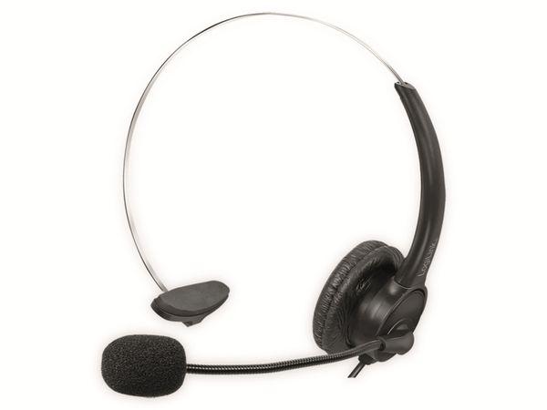 Headset LOGILINK HS0056, USB-A
