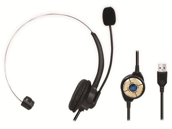 Headset LOGILINK HS0056, USB-A - Produktbild 2