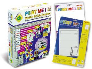 "Multi-Print-Center ""Print Me"" mit Etiketten"