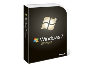 Microsoft Windows 7 Ultimate, 32 Bit