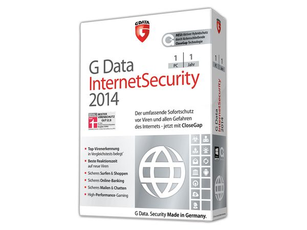 G-Data Internet Security 2014, 1 User