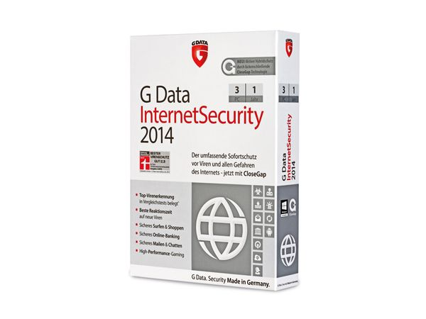 G-Data Internet Security 2014, 3 User