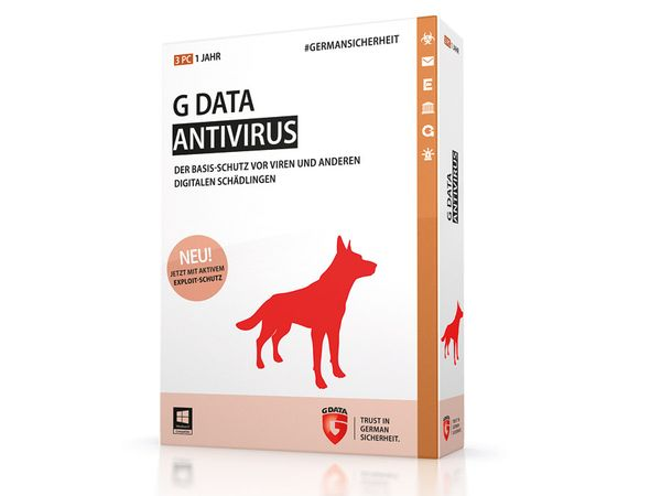 G-Data AntiVirus 2015, 3 User