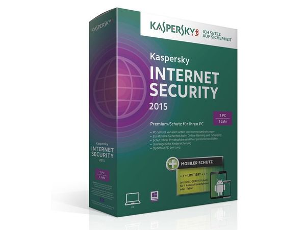 Kaspersky Internet Security 2015 - Produktbild 1