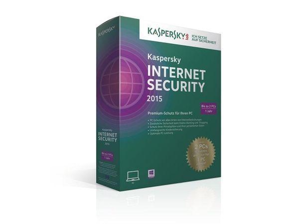 Kaspersky Internet Security 2015, 2 Lizenzen