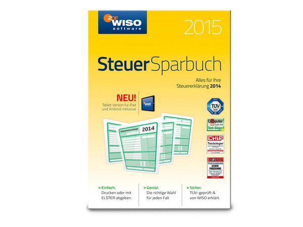 Software WISO Steuer-Sparbuch 2015 für Windows, 1 Lizenz - Produktbild 1