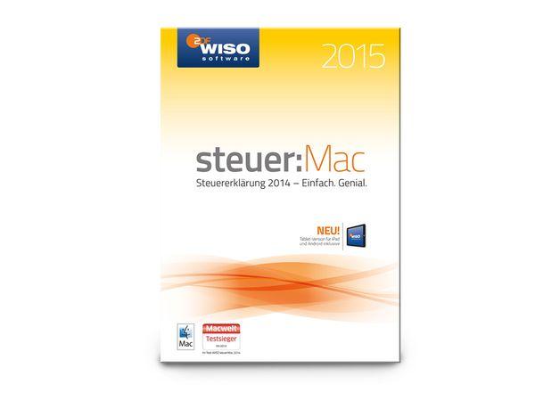 Software WISO Steuer: Mac 2015 für Mac, 1 Lizenz - Produktbild 1