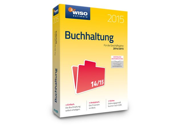 Software WISO Buchhaltung 2015 für Windows, 1 Lizenz, 365 Tage - Produktbild 2