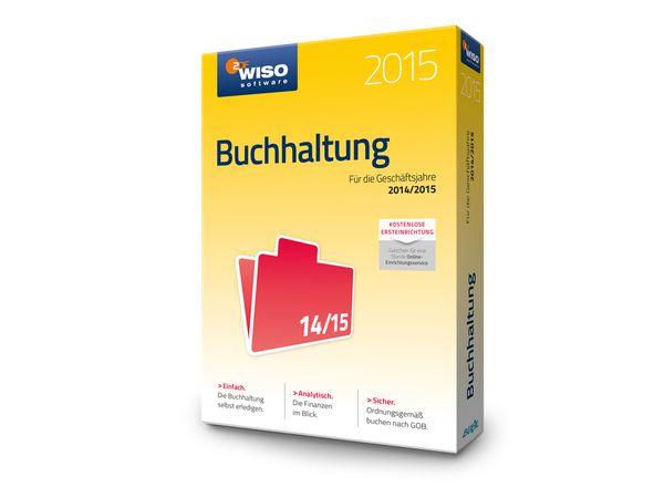 Software WISO Buchhaltung 2015 für Windows, 1 Lizenz, 365 Tage - Produktbild 3