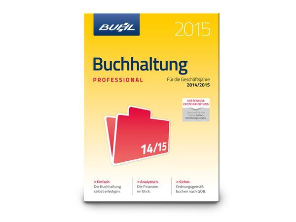 Software Buchhaltung 2015 Professional für Windows, 5 Lizenzen, 365 Tage - Produktbild 1