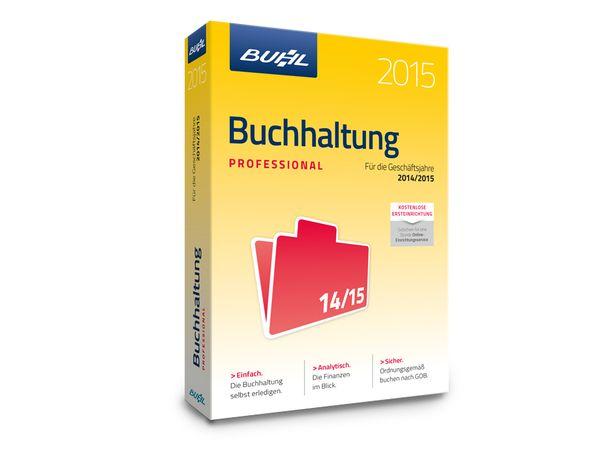 Software Buchhaltung 2015 Professional für Windows, 5 Lizenzen, 365 Tage - Produktbild 2