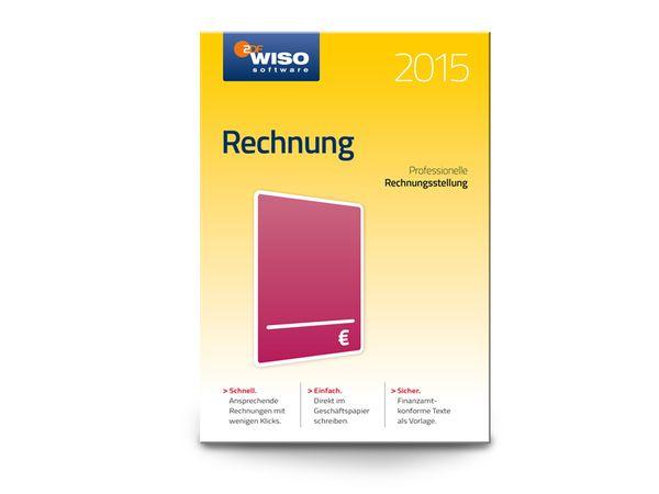 Software WISO Rechnung 2015 für Windows, 1 Lizenz, 365 Tage - Produktbild 1