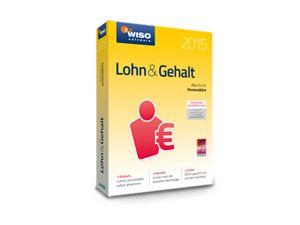 Software WISO Lohn & Gehalt 2015 für Windows, 1 Lizenz, 365 Tage - Produktbild 2