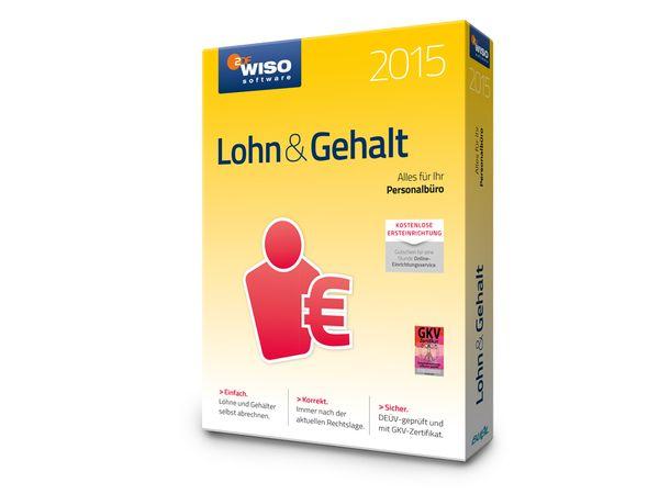 Software WISO Lohn & Gehalt 2015 für Windows, 1 Lizenz, 365 Tage - Produktbild 3