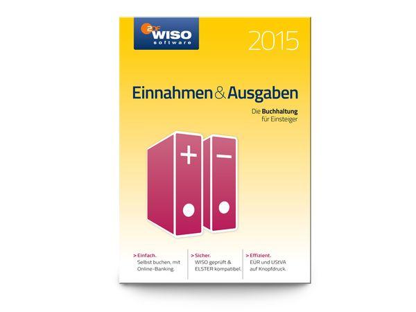 Software WISO Einnahmen & Ausgaben 2015 für Windows, 1 Lizenz, 365 Tage - Produktbild 1