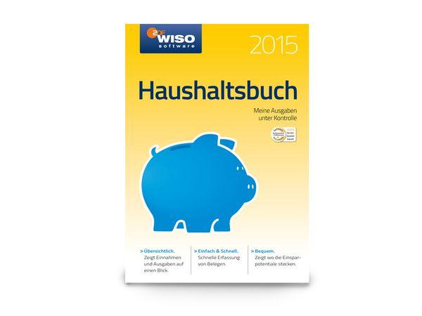Software WISO Haushaltsbuch 2015 für Windows