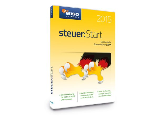 Software WISO Steuer:Start 2015 für Windows - Produktbild 1