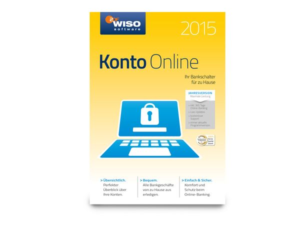 Software WISO Konto Online 2015 für Windows