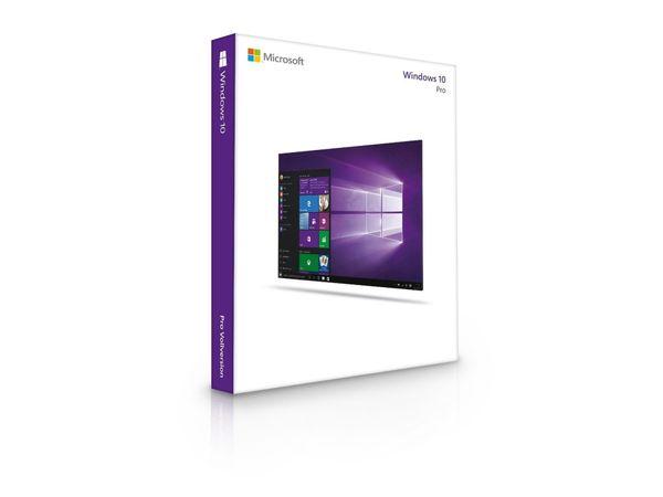 Microsoft Windows 10 Pro, 64 Bit