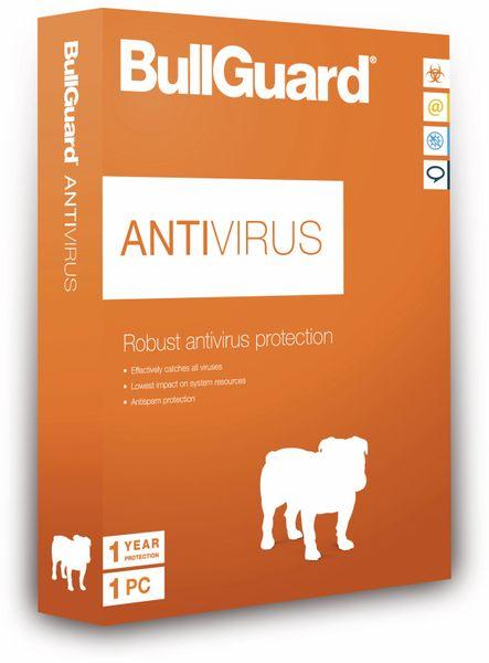 BULLGUARD Antivirus BG1439, 1 Jahr, 1 PC - Produktbild 1