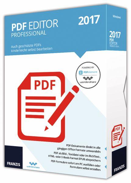 PDF Editor Professional 2017