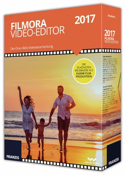 FILMORA Video-Editor 2017