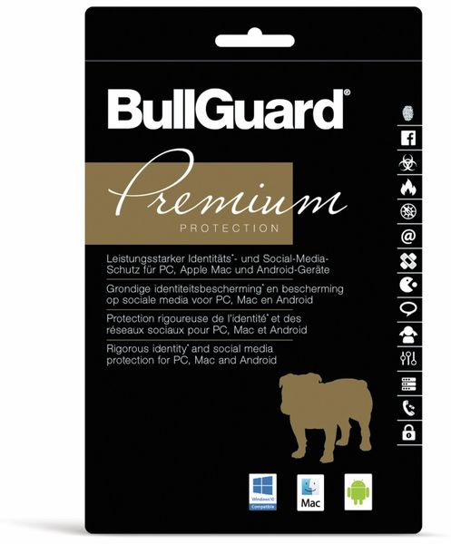 BULLGUARD Premium Protect, 5 Geräte