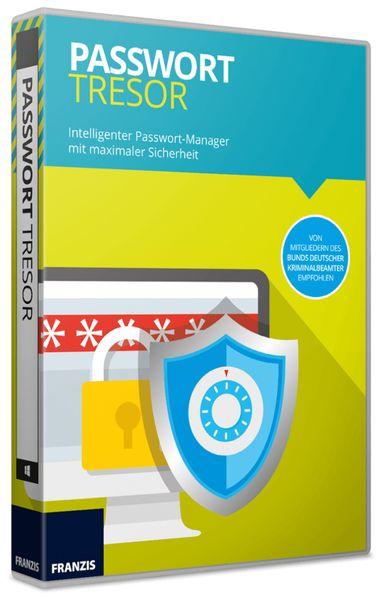 "Software FRANZIS "" Passwort Tresor"""