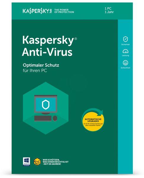 KASPERSKY Anti-Virus 2018, 1 Gerät, 1 Jahr
