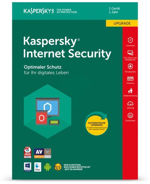 KASPERSKY Internet Security 2018, 1 Gerät, 1 Jahr