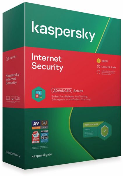 KASPERSKY Internet Security + Android, 1 User