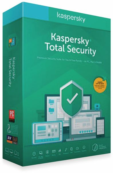 KASPERSKY Total Security 2020, 3 Geräte