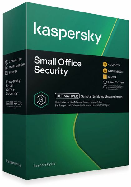 KASPERSKY Small Office Security, 5 User