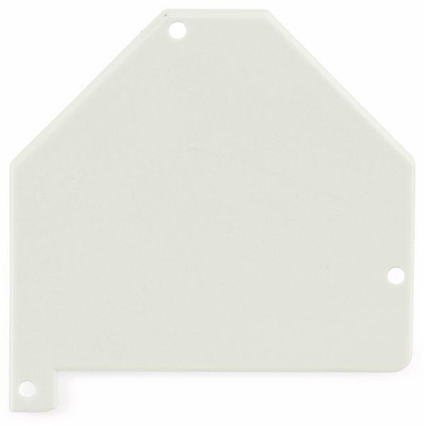 Abschlussplatte links ET-25185.1 für Keystonemodulhalter - Produktbild 1