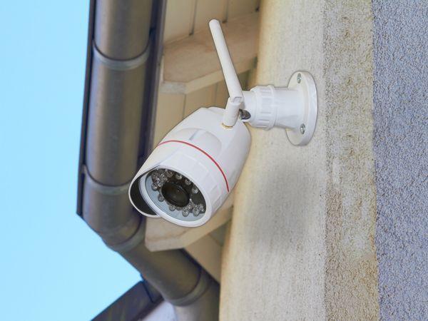 Outdoor IP-Kamera OLYMPIA OC 1280 P, 720p, IP65, weiß - Produktbild 3