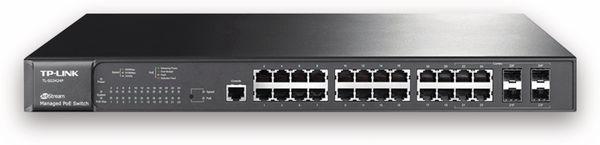Switch TP-LINK JetStream T2600G-28MPS (TL-SG3424P), 24-port, Gigabit