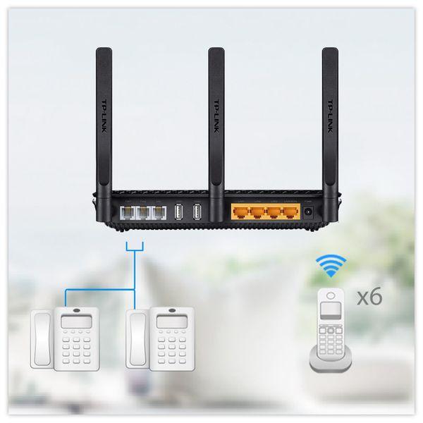 WLAN-Router TP-LINK Archer VR600v, VoIP, Dual-Band - Produktbild 6
