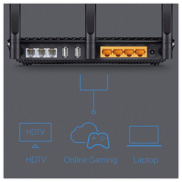WLAN-Router TP-LINK Archer VR600v, VoIP, Dual-Band - Produktbild 8