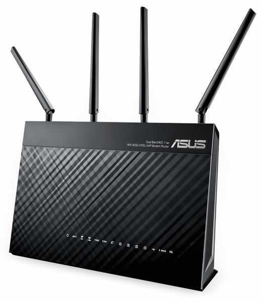 WLAN-Router ASUS DSL-AC87VG, VoIP, Dual-Band - Produktbild 1