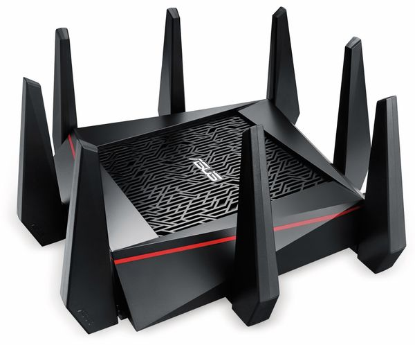 WLAN-Router ASUS RT-AC5300, Wave 2, Tri-Band - Produktbild 1