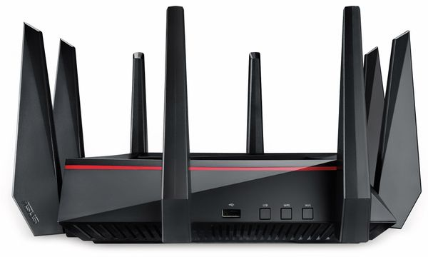 WLAN-Router ASUS RT-AC5300, Wave 2, Tri-Band - Produktbild 4