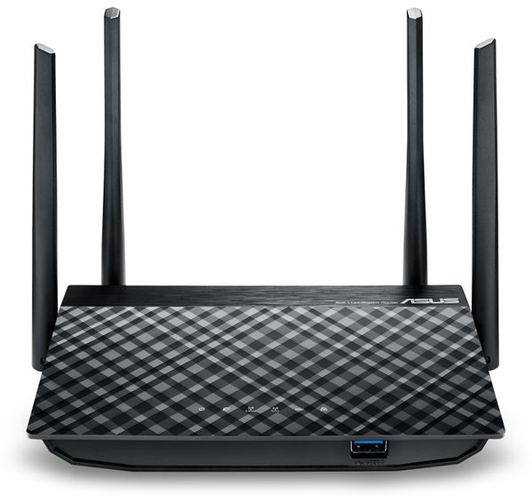 WLAN-Router ASUS RT-AC58U, Wave 2, Dual-Band - Produktbild 3