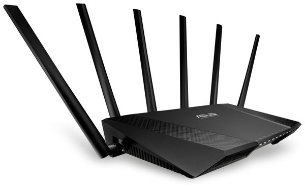 WLAN-Router ASUS RT-AC3200, Tri-Band - Produktbild 3
