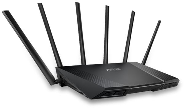 WLAN-Router ASUS RT-AC3200, Tri-Band - Produktbild 4