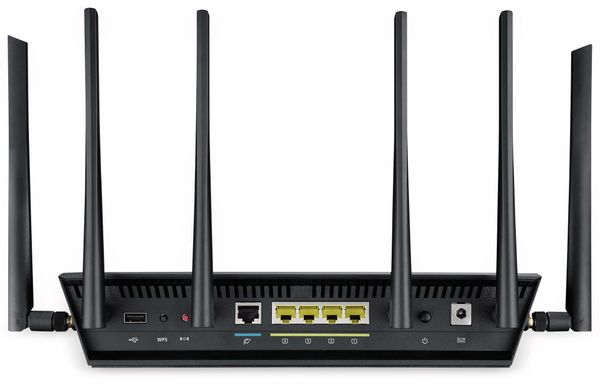 WLAN-Router ASUS RT-AC3200, Tri-Band - Produktbild 5
