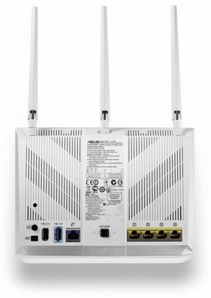 WLAN-Router ASUS RT-AC68U, Dual-Band - Produktbild 3